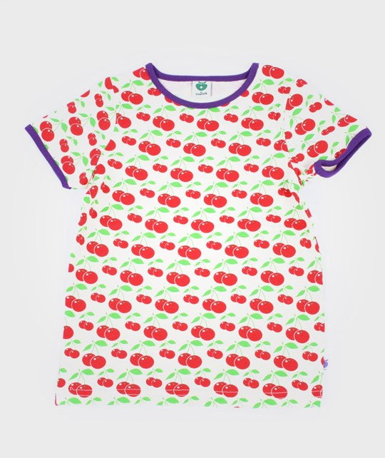 Småfolk T-Shirt S/S Cherries пестрый