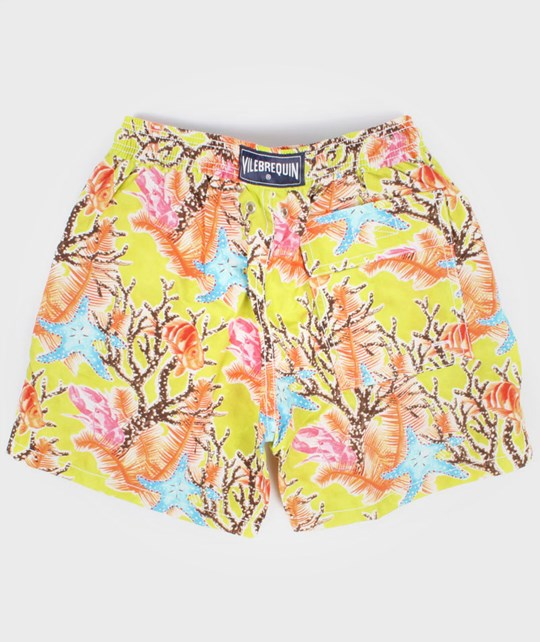 Vilebrequin Swimshorts Citronelle Yellow