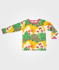 Småfolk T-Shirt L/S Flowers And Insects