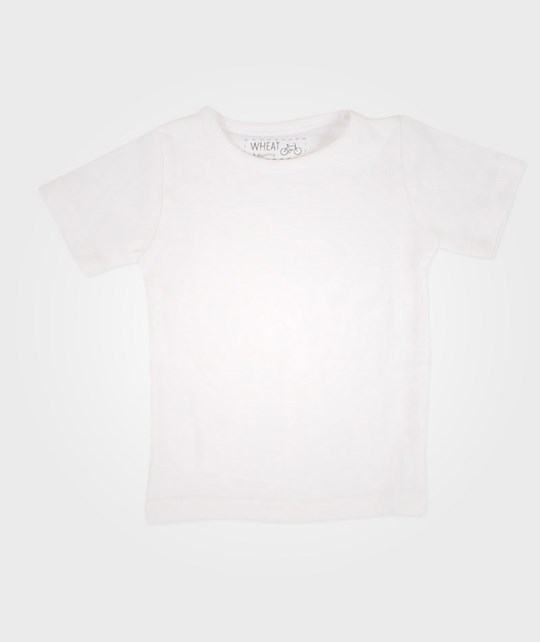 Wheat Basic Boy T-Shirt Baby White White