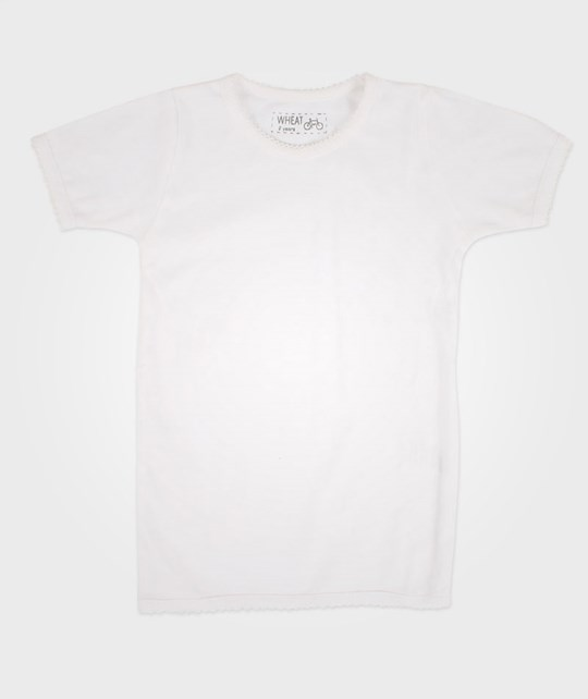 Wheat Basic Girl T-Shirt White White
