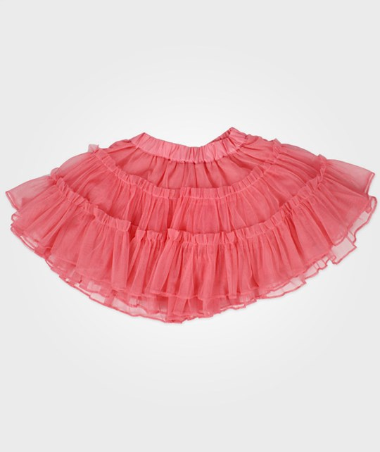 Wheat Skirt Tulle Lipstick Pink
