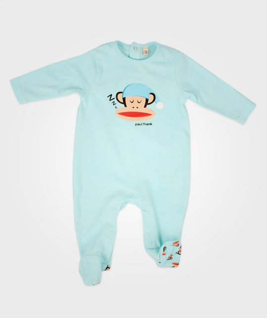 Paul Frank Sleepsuit Light Blue Blue