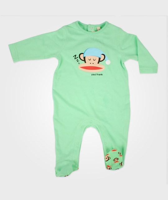 Paul Frank Sleepsuit Light Green Green