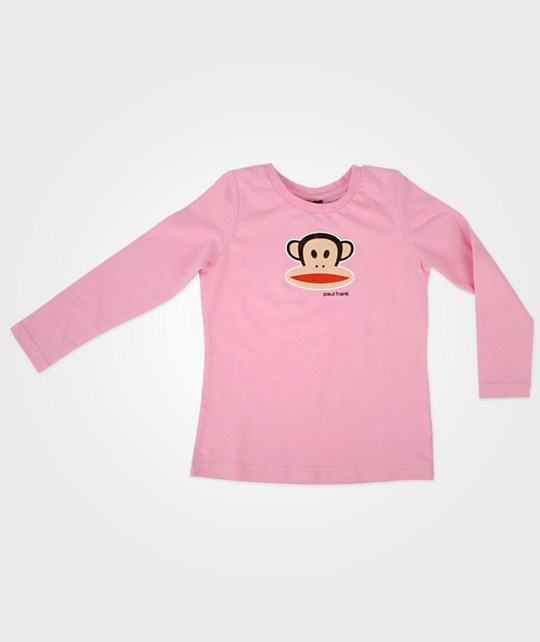 Paul Frank Basic Light Pink T-shirt L/S Pink