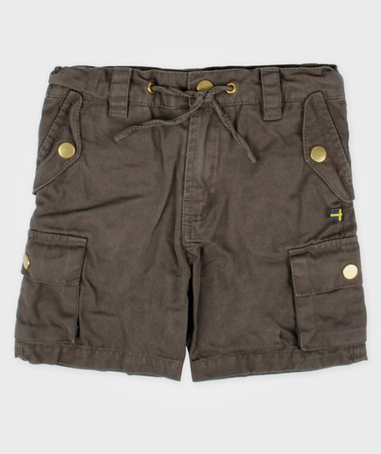 The BRAND Army Shorts Graphite Black