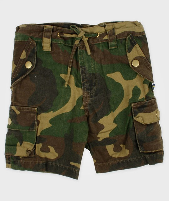 The BRAND Army Shorts Camo Multi