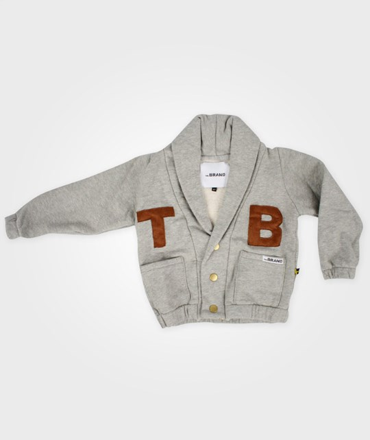 The BRAND NO11 Cardigan Grey Musta