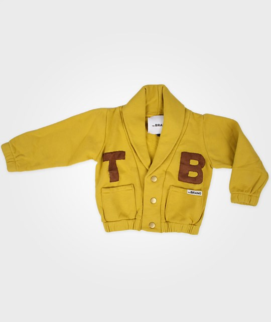 The BRAND Cardigan NO 11 Yellow
