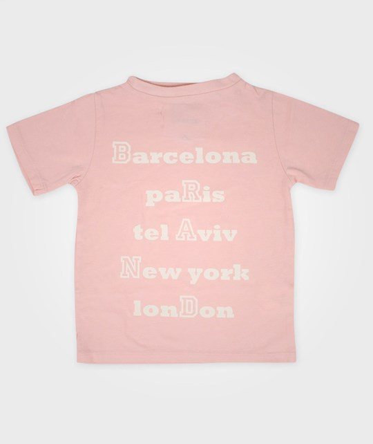 The BRAND T-shirt City Rosa Pink