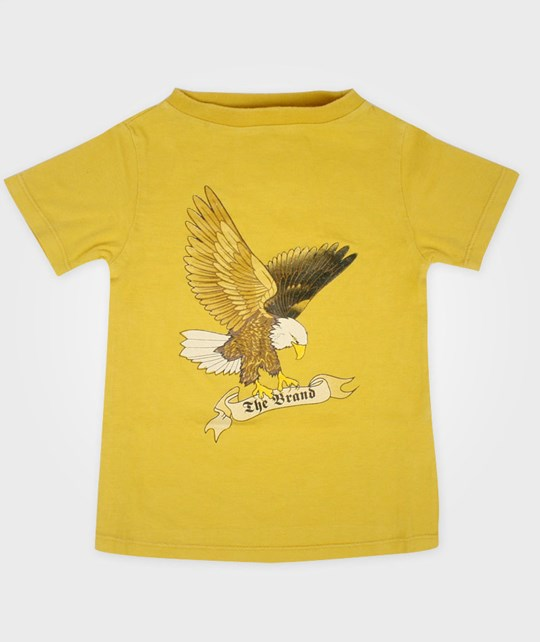 The BRAND Tee Eagle Yellow