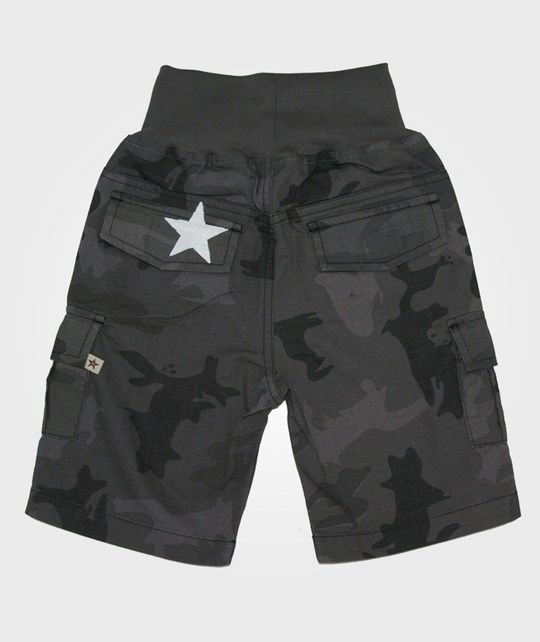 Nova Star Safari Shorts Grey Black