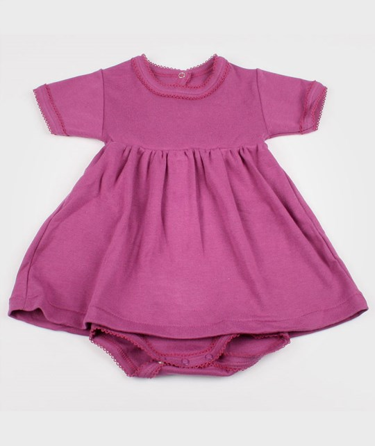 Petit Bateau Onesie Dress Purple Purple
