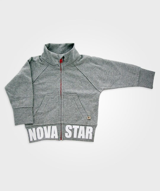 Nova Star Letter Sweat Melange Black
