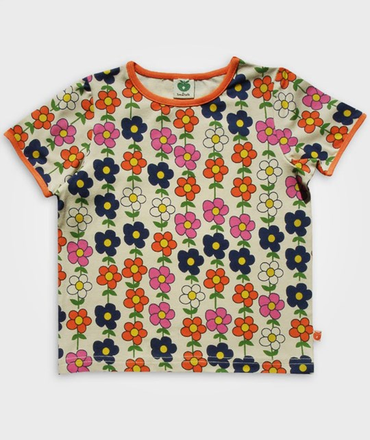 Småfolk T-shirt Blomster Multi