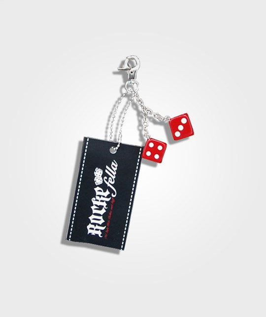 Rockefella Keychain Dices Red