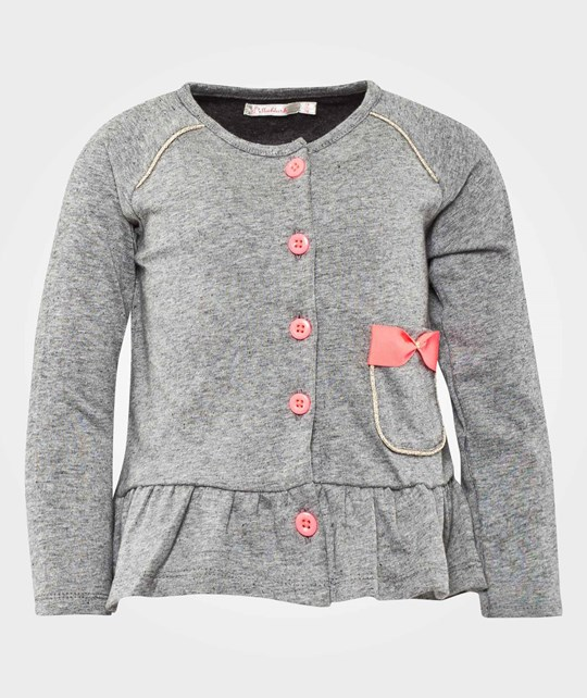 Billieblush Cardigan Charcoal Marl Multi