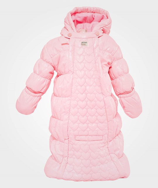 Mexx Baby Girls Car/Sleepbag Fluo Candy Pink
