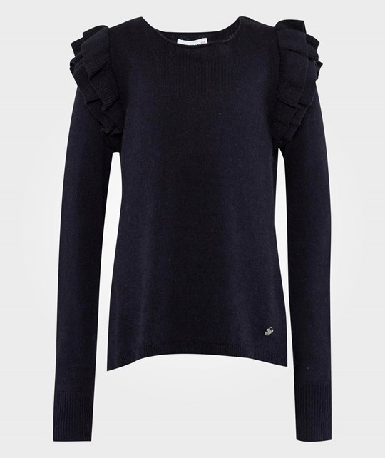 Pinko Up LS Sweater Shadow Blue Blue