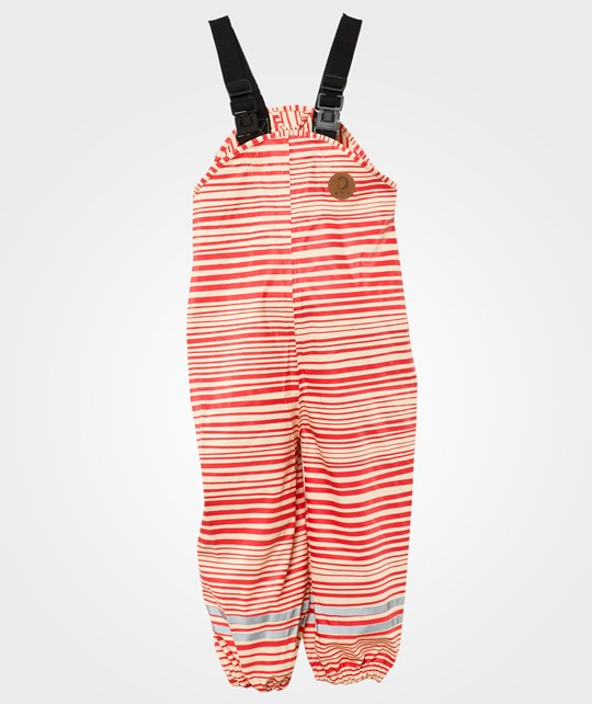 Mini Rodini Stripe Aop Rain Tr, Red Red