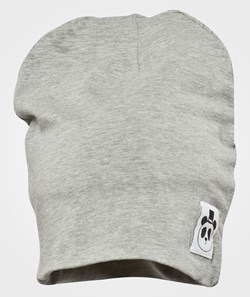 Mini Rodini Basic Beanie, Grey Mel