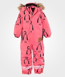 Mini Rodini Expedition Alaska Aop Ov, Pink