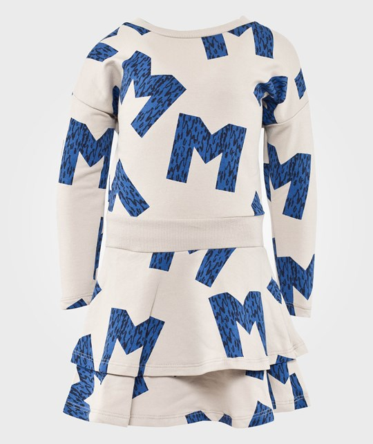 Mini Rodini M Aop Dress, Blue Blue