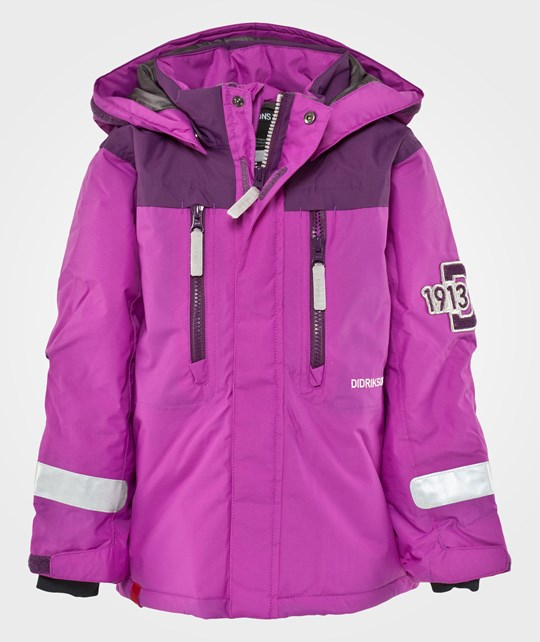 Didriksons Hamres Kids Jacket Amethyst Purple