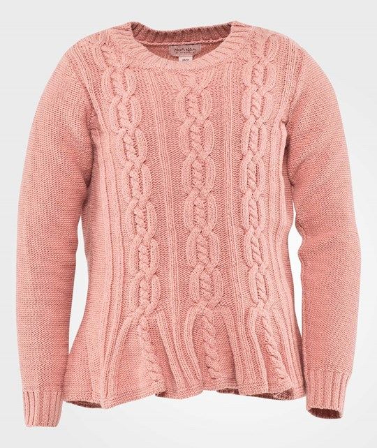 Noa Noa Miniature Pullover,Long Sleeve Rose Tan Pink