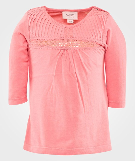 Noa Noa Miniature Dress Long Sleeve, Honey Suckle Pink