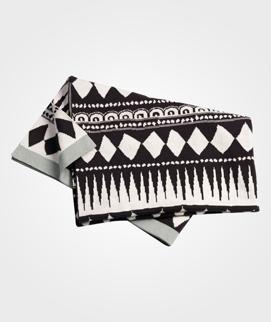 Elodie Details Cot. Knitted Blanket Graphic Multi