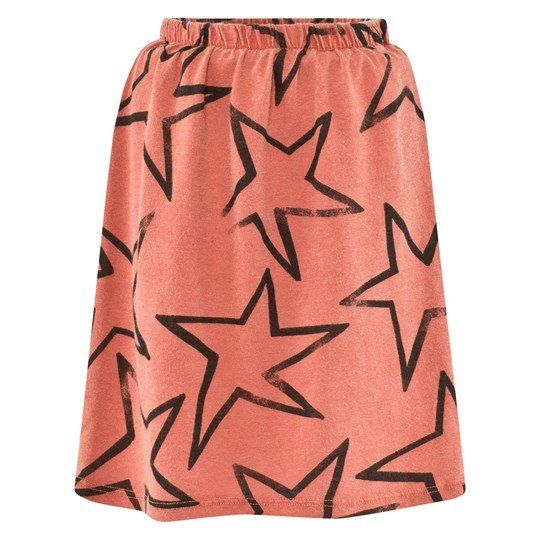 Bobo Choses Skirt Jersey Stars Red Red