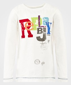 Replay T Shirt Long Sleeve White