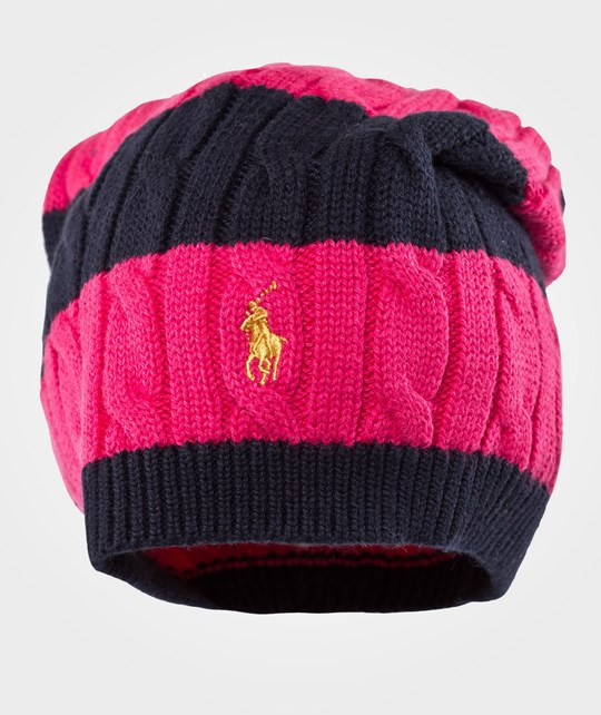 Ralph Lauren Rugby Slouchy Hat Currant Multi