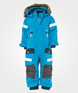 Didriksons Theron Kids Coverall Teal