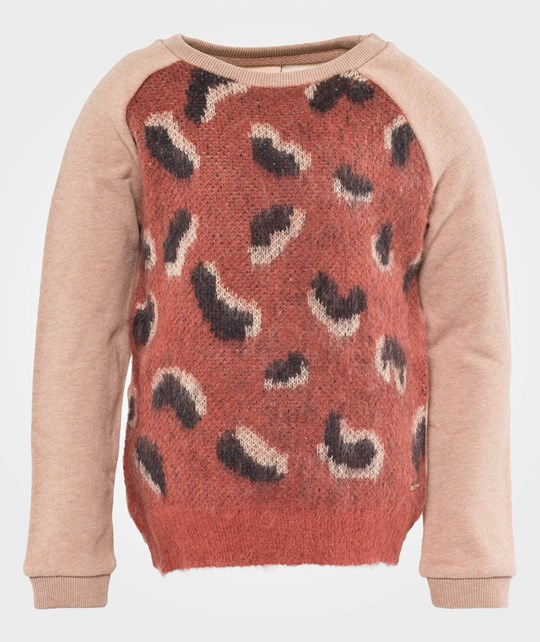 Scotch R'belle Sweat With Knitted Front Panel A Dessin A Multi