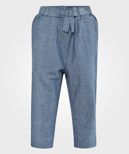 ebbe Kids Kinna Low Crotch Pant Girls Chambray Medium Blue Blue