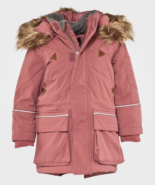 eBBe Kids Nate Outdoor Winterparkas Heather Lilac Punainen