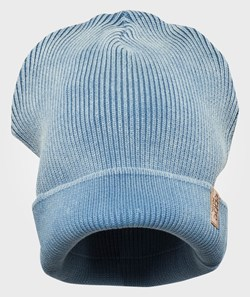 ebbe Kids Knit Fishermans Hat Steelblue