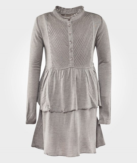 Replay Dress Medium Grey Melange Black