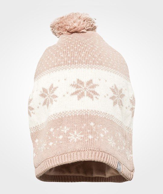 Wheat Beanie Marit Dark Rose Pink