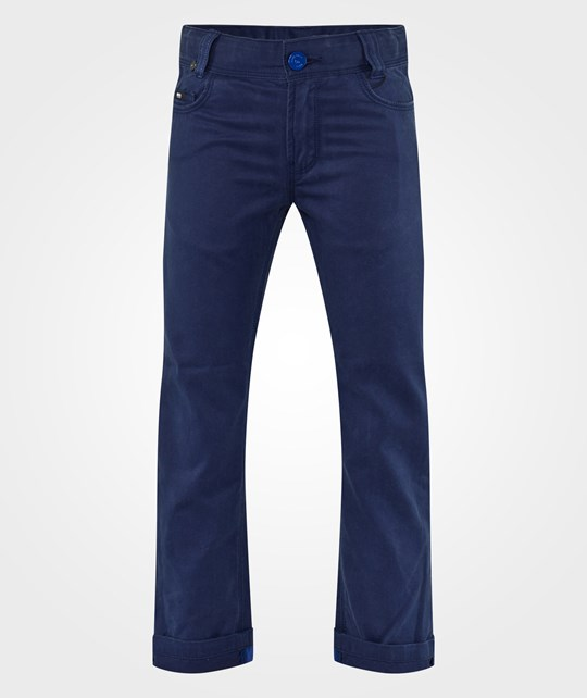 BOSS Trousers 5 Pocket Medieval Blue Blue