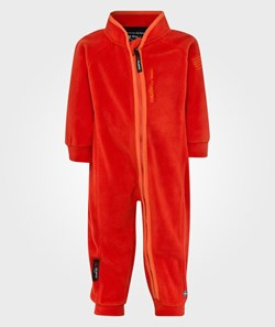 Isbjörn Of Sweden Microfleece Overall Lava Red