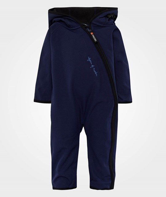 Isbjörn Of Sweden Wind&Rain Block Jumpsuit Dark Navy Blue