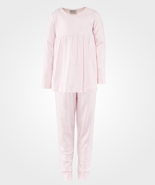 Wheat Granny Pajamas Soft Rose Pink