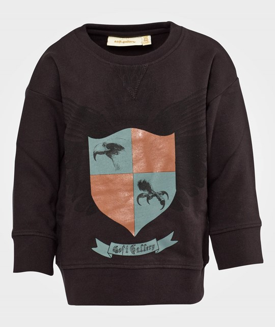 Soft Gallery Silas Coat Of Arms Sweat Acid Peat Multi