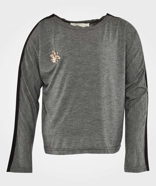 Pale Cloud Nora Sweater Grey Melange Grå Black