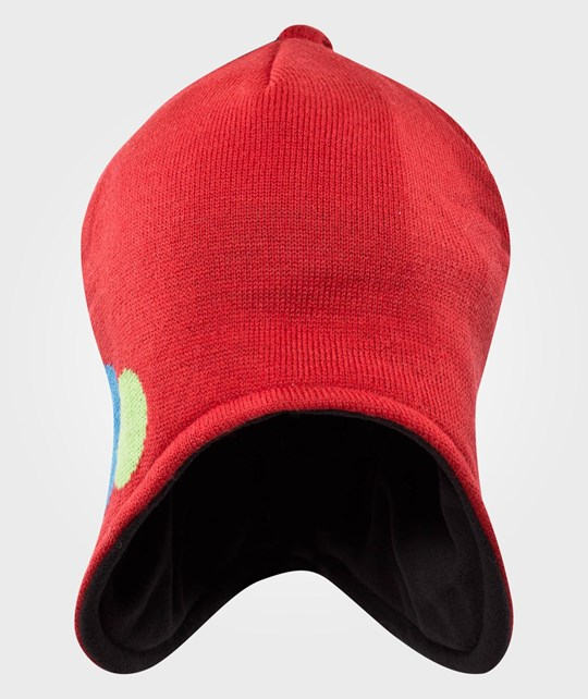 Isbjörn Of Sweden Bubbles Knitted Cap Happy Red Red