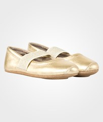 Bisgaard Ballet Shoe Gold Yellow