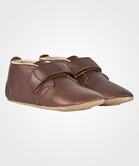 Bisgaard Velcro Shoe Brown BROWN
